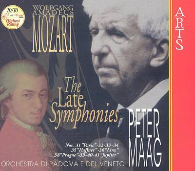 Mozart: The Late Symphonies (Box Set)