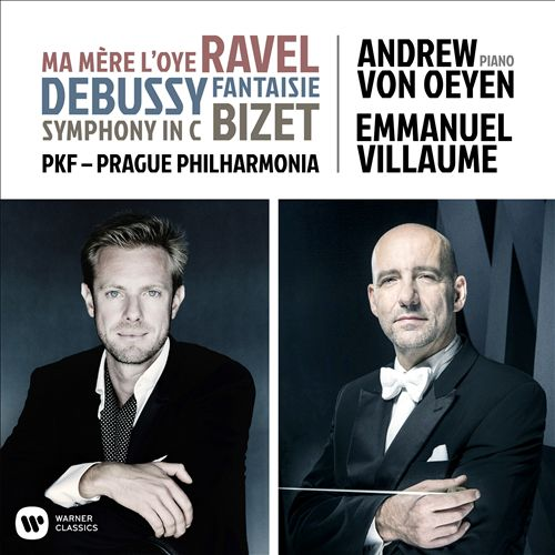 Ravel: Ma Mère l'Oye; Debussy: Fantasie; Bizet: Symphony in C