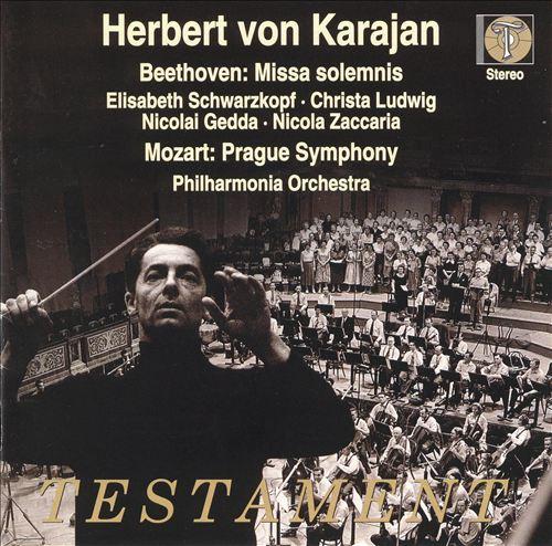 Herbert von Karajan (Testament)