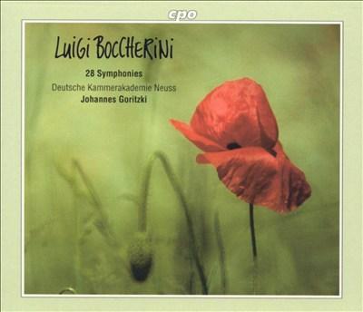Boccherini: 28 Symphonies