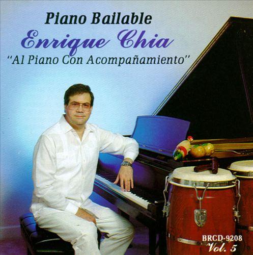 Piano Bailable: Al Piano Con Acompanamiento, Vol. 5