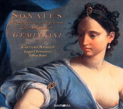 Geminiani: Six Sonatas for Cello & Continuo, Op. 5