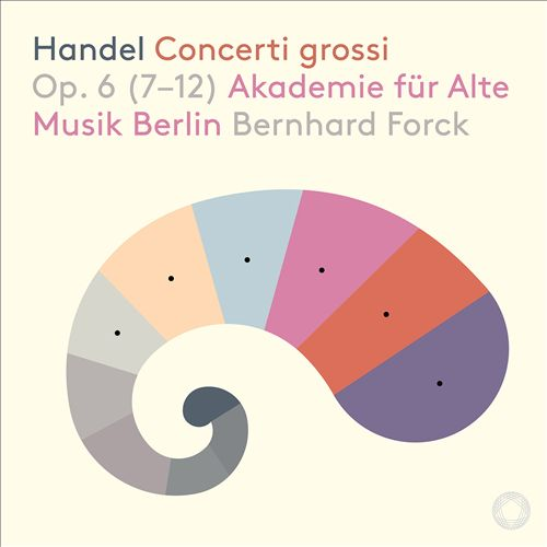Handel: Concerti grossi Op. 6 (7-12)