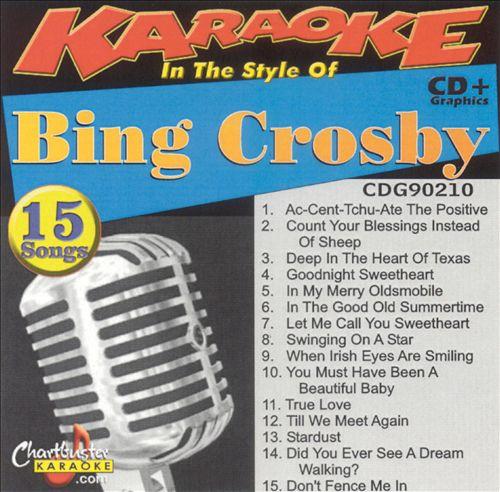 Chartbuster Karaoke: Bing Crosby