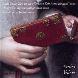 Bach: Gottes Zeit is die allerbeste Zeit 'Actus tragicus' BWV 106; Himmelskönig, sei willkommen BWV 182; Komm, Jesu, komm BWV 229
