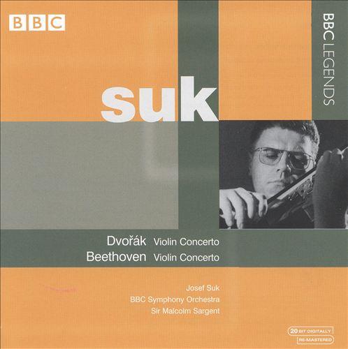 Dvorák, Beethoven: Violin Concertos