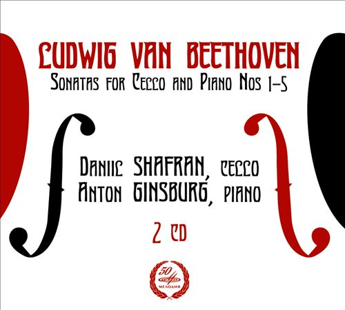 Beethoven: 5 Sonatas for cello & piano