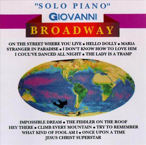 Solo Piano Broadway, Vol. 2