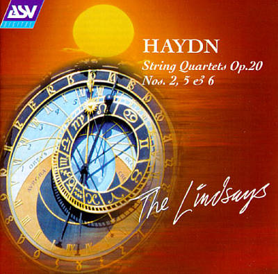 Haydn: String Quartets, Op. 20 No's. 2, 5 & 6
