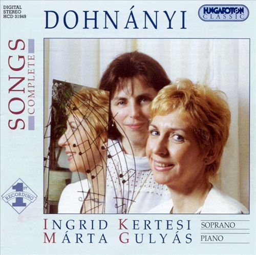 Dohnányi: Songs, Complete