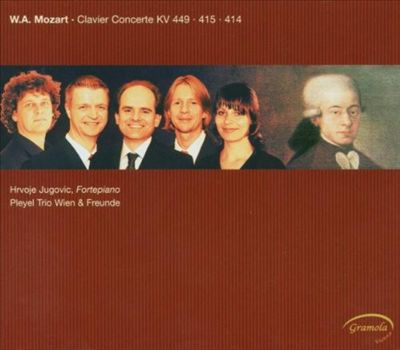 W.A. Mozart: Clavier Concerte KV 449, 415, 414