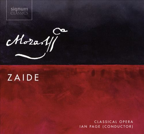 Mozart: Zaide