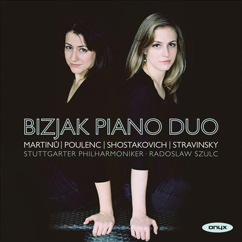 Martinu, Poulenc, Shostakovich, Stravinsky