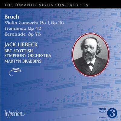 The Romantic Violin Concerto, Vol. 19: Bruch