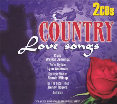 Country Love Songs [St. Clair 2CD]