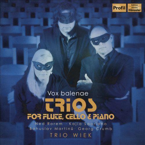 Vox Balenae: Trios for Flute, Cello & Piano