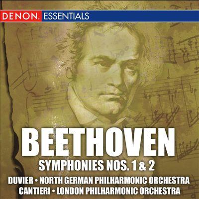 Beethoven: Symphonies Nos. 1 & 2; Egmont Overture