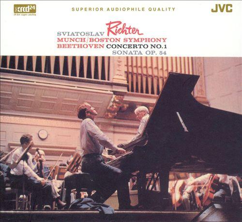 Beethoven: Piano Concerto No. 1; Piano Sonata, Op. 54