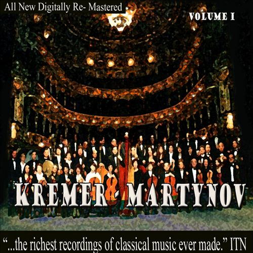 Kremer: Martynov, Vol. 1