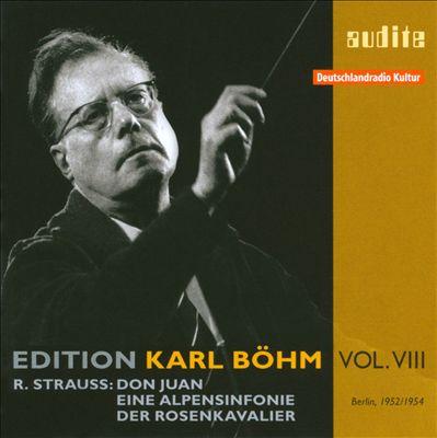 Richard Strauss: Don Juan; Eine Alpensinfonie; Der Rosenkavalier