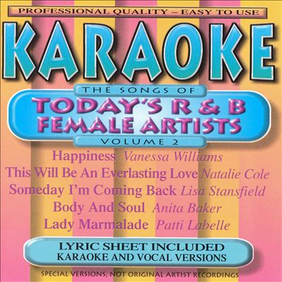 Today's R&B Female Artists, Vol. 2