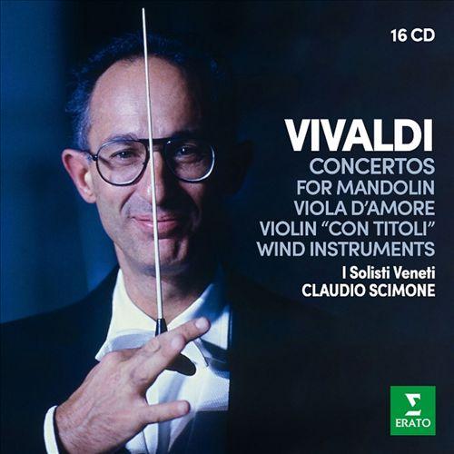 Vivaldi: Concertos for Mandolin, Viola d'Amore, Violin