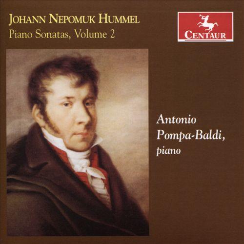 Johann Nepomuk Hummel: Piano Sonatas, Vol. 2