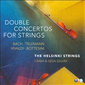 Bach, Telemann, Vivaldi, Bottesini: Double Concertos for Strings