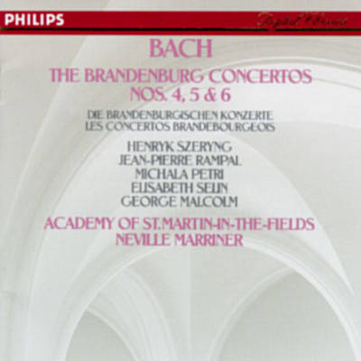 Bach: The Brandenburg Concertos Nos. 4-6