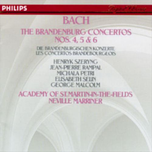 Bach: The Brandenburg Concertos Nos. 4-6