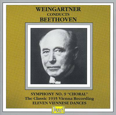 """Weingartner conducts Beethoven Symphony No. 9 """"Choral"""""""