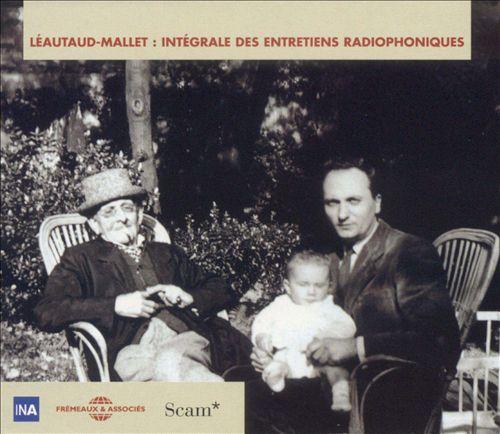 Intégrale Des Entretiens Radiophoniques