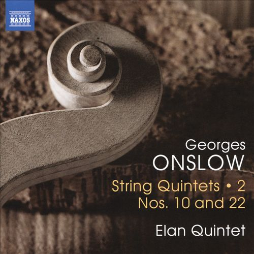Georges Onslow: String Quintets, Vol. 2 - Nos. 10 and 22