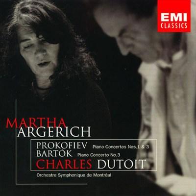 Prokofiev: Piano Concertos Nos. 1 & 3; Bartok: Piano Concerto No. 3