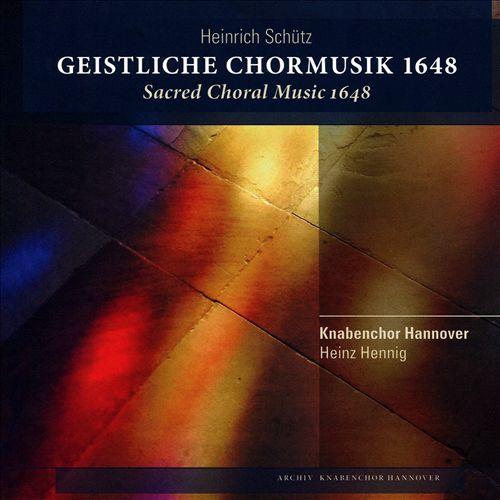 Heinrich Schütz: Geistliche Chormusik, 1648