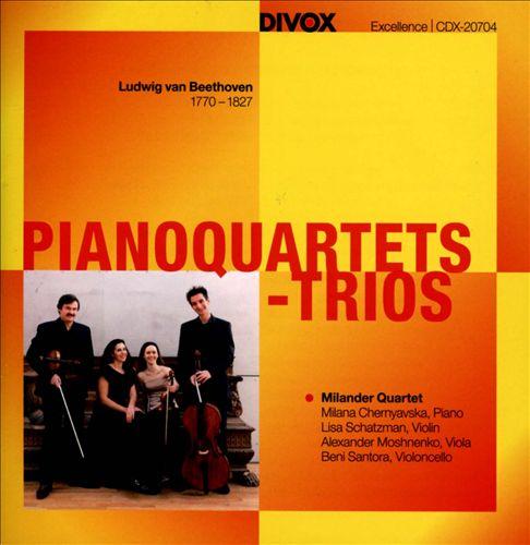 Beethoven: Pianoquartets - Trios