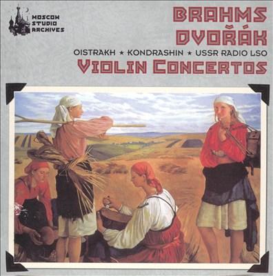 Brahms, Dvorak: Violin Concertos