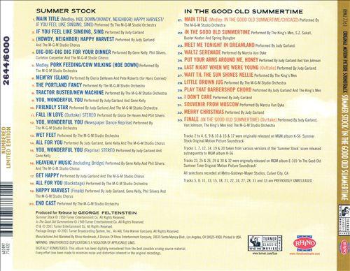 Summer Stock/In the Good Old Summertime (Soundtracks)