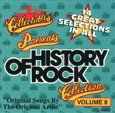 History of Rock, Vol. 8 [Collectables 1992]
