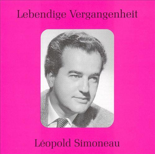 Lebendige Vergangenheit: Léopold Simoneau