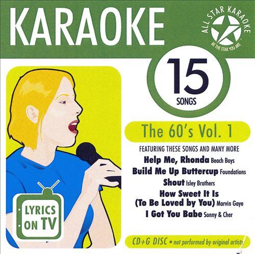 Karaoke: The 60's, Vol. 1