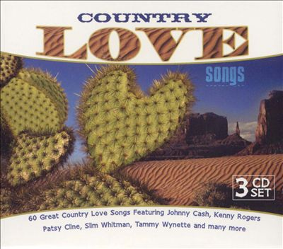 Country Love Songs [K-Tel UK 3 CD]