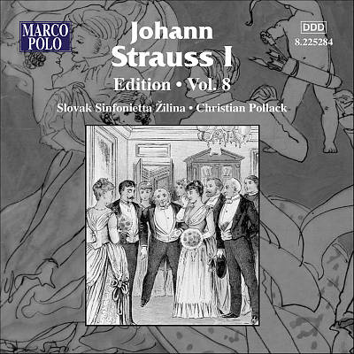 Johann Strauss I Edition, Vol. 8