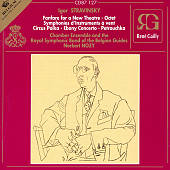 Stravinsky: Petrushka; Symphonies of Wind Instruments; Fanfare for a New Theatre; Octet