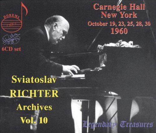 Sviatoslav Richter Archives, Vol. 10