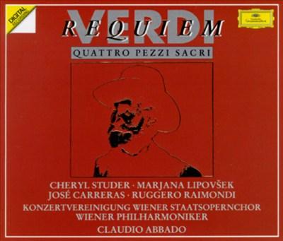 Verdi: Requiem; Quattro Pezzi Sacri