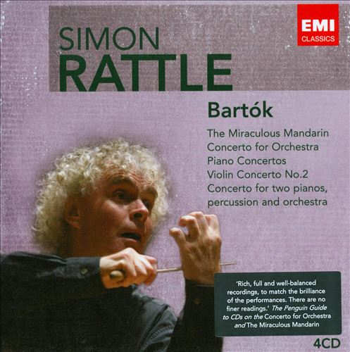 Bartók: The Miraculous Mandarin; Concerto for Orchestra; Piano Concertos; Violin Concertos; Concerto for Two Pianos, Percussion & Orchesta