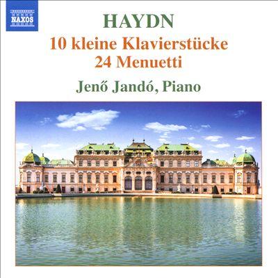 Haydn: 10 kleine Klavierstucke; 24 Menuetti