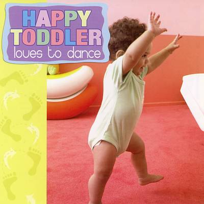 Happy Toddler Loves to Dance