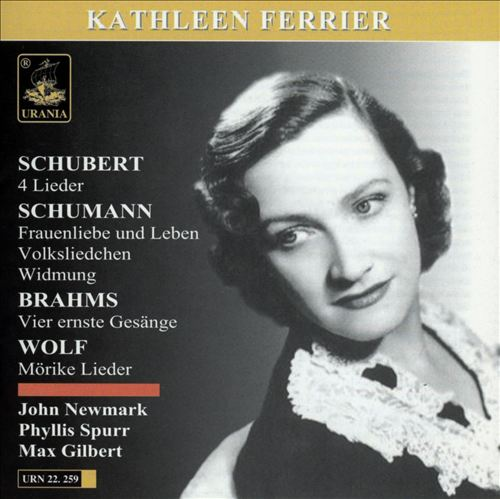 Schubert, Schumann, Brahms, Wolf